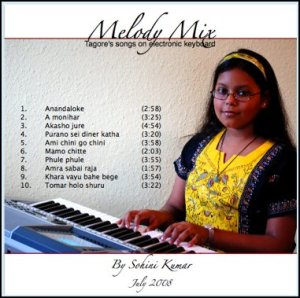 "Cover of Sohini's album ""Melody Mix"""