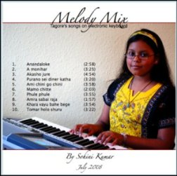 "Cover of Sohini's album ""Melody Mix"""