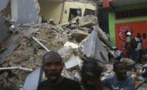Survivor of Haiti earthquake