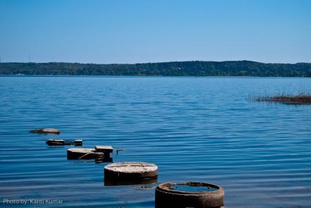 Skyrup lake in Sweden