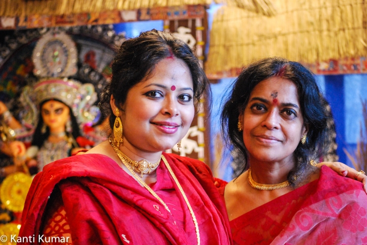 Durga Puja celebrations in Copenhagen organized by the Bengalis In Denmark (BID) in October 2016.